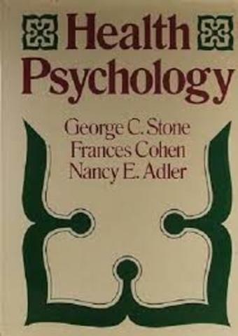 Se publica el primer libro en Psicología de la Salud.