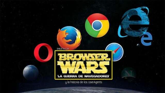 Termina la guerra de los navegadores