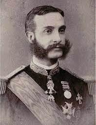 Alfons XII, rei d'Espanya.