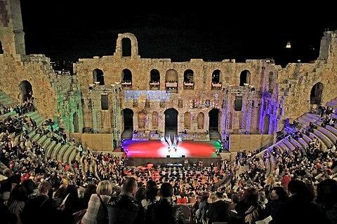 Συναυλία στο Ηρώδειο