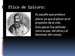 La propuesta de la ética epicúrea