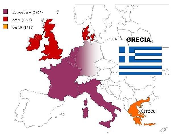 Admisión de Grecia