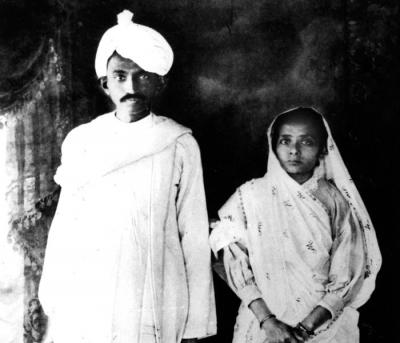 When Gandhi got married