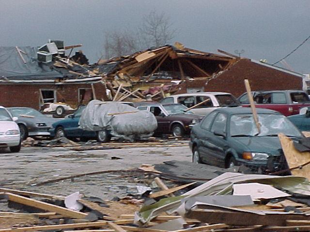 Tornado Hits Kentucky