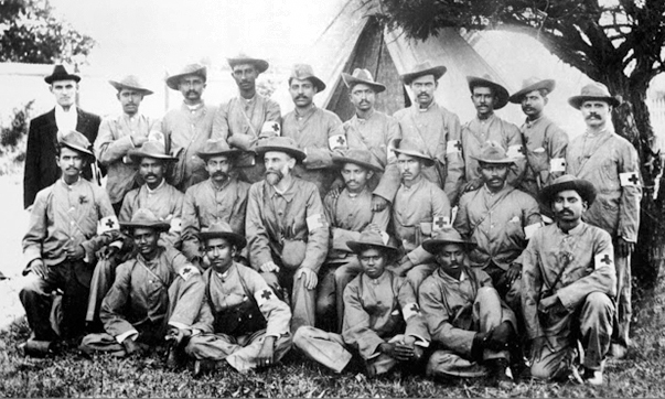 Gandhi creates an Ambulence Corps for the Boer War