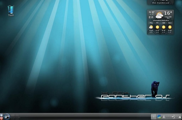 Linux: Black Panther