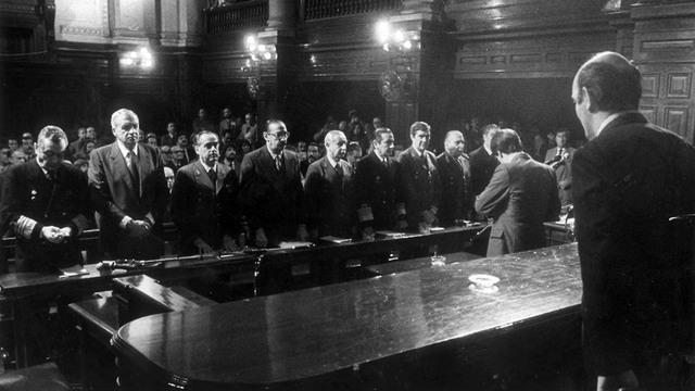 El juicio a la junta militar