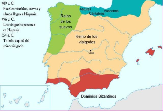 Germaniako Herriak Hispanian.