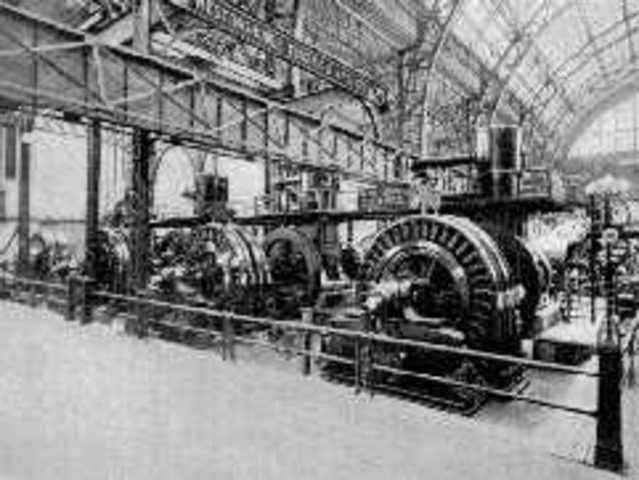 Primera planta de Generació d'electricitat