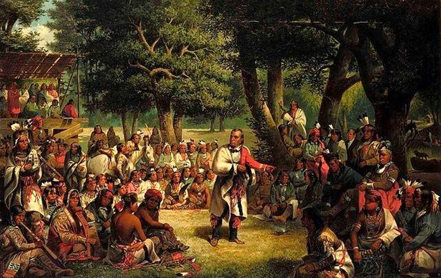 The Iroquois League was established