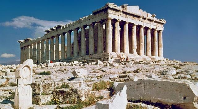 Fin de la construcción del Partenón