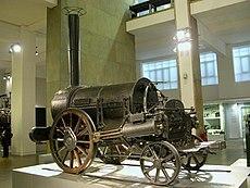 Locomotora de vapor de Stephenson