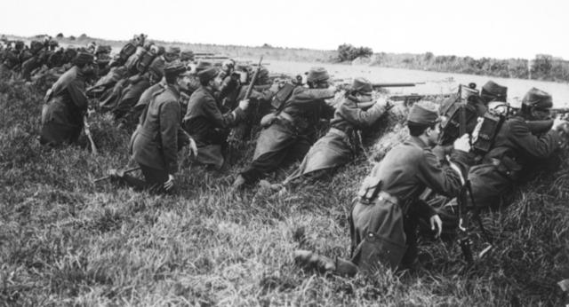 Primera Batalla del Marne(este de Paris)