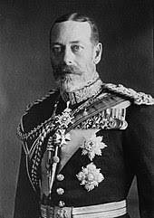The death of George V