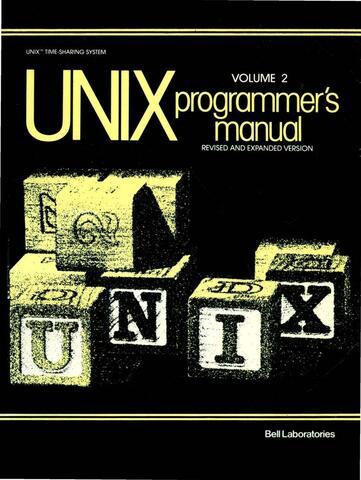 1971.- Se publica manual Unix