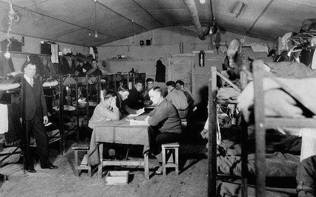 Unemployment Relief Camps C&C