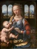 la primera pintura de leonardo da vinci publica