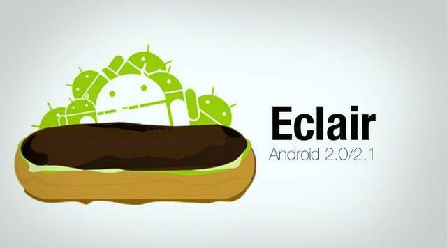 Android 2.0 y 2.1 Éclair