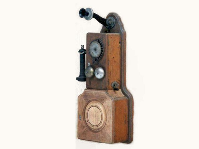 Strowger 10 digit Automatic Wall Telephone
