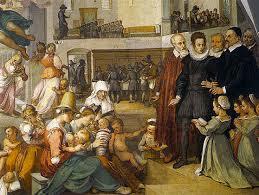 Un comerciante florentino llevaba un registro de sus cuentas, cosa que dio lugar al origen de la Escuela Florentina