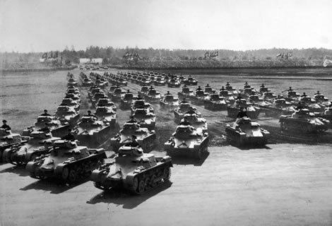 Logística Militar, Segunda Guerra mundial (1939 - 1940)