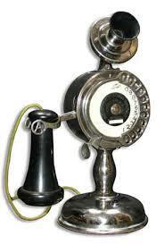 Strowger 11 digit desk telephone