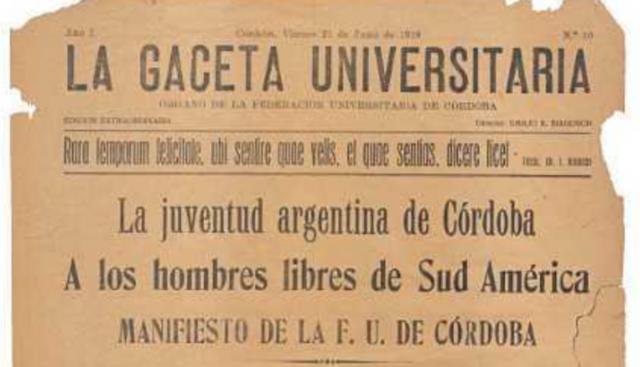 Reforma universitaria de Córdova