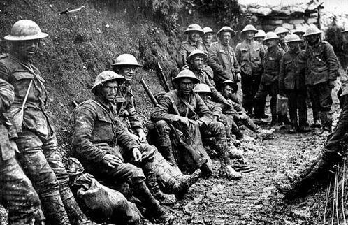 Inicio de la Primera Guerra Mundial