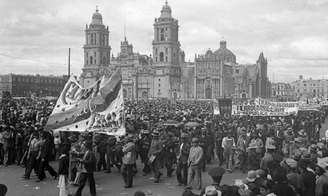 Hay múltiples huelgas y rebelión de sindicatos.