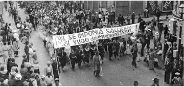 Fuertes movimientos de agitación política