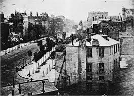 Boulevard Du Temple  (Louis-Jaques Mandé Daguerre)