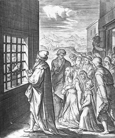 Es encarcelado por la inquisición