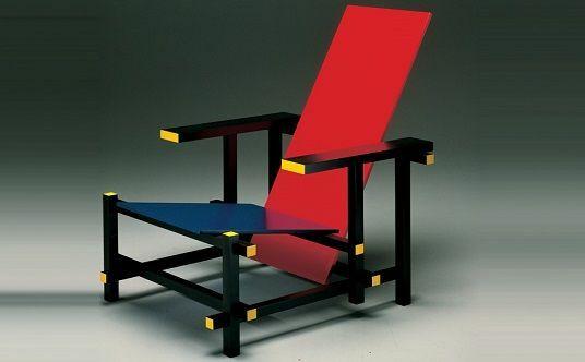 -Cadira vermella i blava (Rietveld)