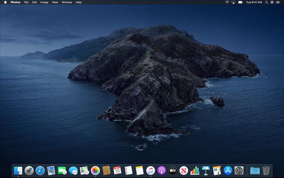"""Mac OS 10.15 """"Catalina"""""""