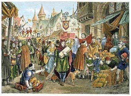 Del feudalismo al capitalismo mercantil