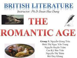 The romantic period (1785-1832)