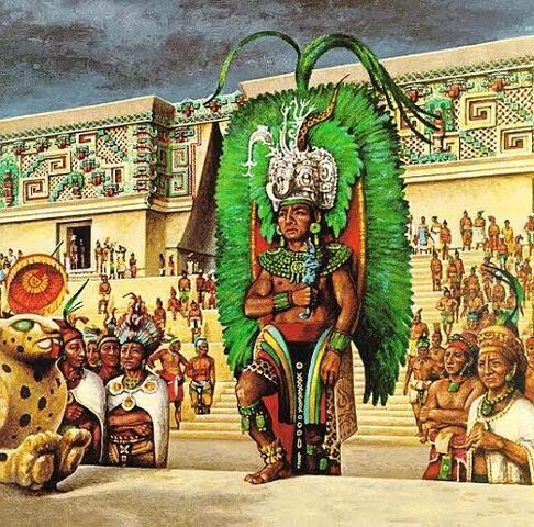 organización Económica, política, religiosa y social (Maya)