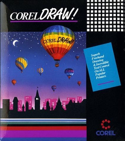 Corel Draw versión 1.0