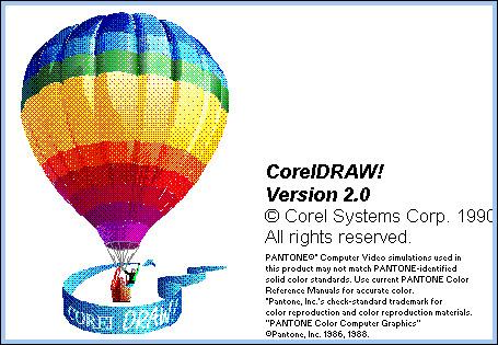 Corel Draw versión 2