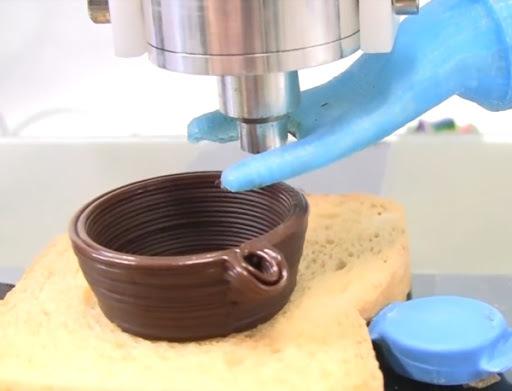 Impresión 3D de chocolate