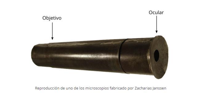 Invención del microscopio, Primer microscopio compuesto