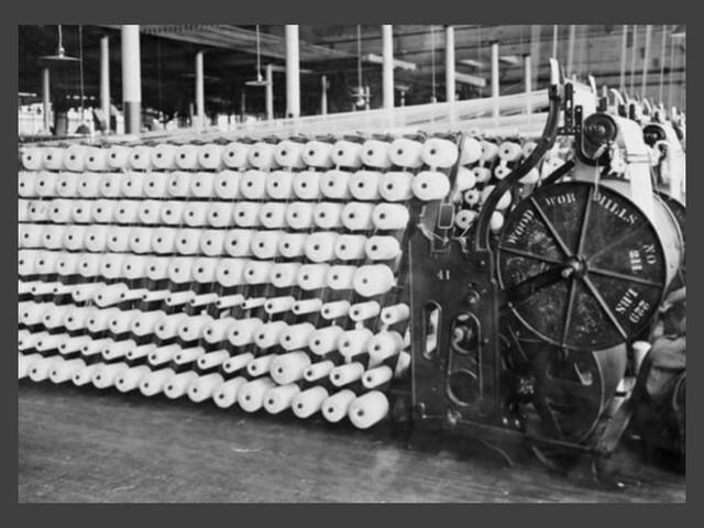Desarrollo de las industrias más importantes de la época como la: textil, acero, electricidad y cerveza.
