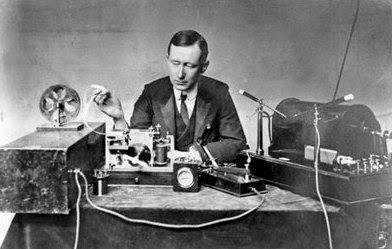 La primera transmisión de radiotelefonía de larga distancia