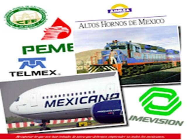 (PECE), privatización de empresas, renegociación de la deuda y la aceleración de la apertura comercial.