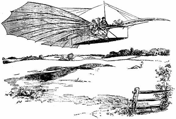 Густав Уайтхед - полет на аппарате с двигателем