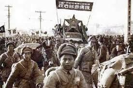Es derrocado el gobierno Chino (Chiang Kai-Shek) por los comunistas (Mao Zedong).