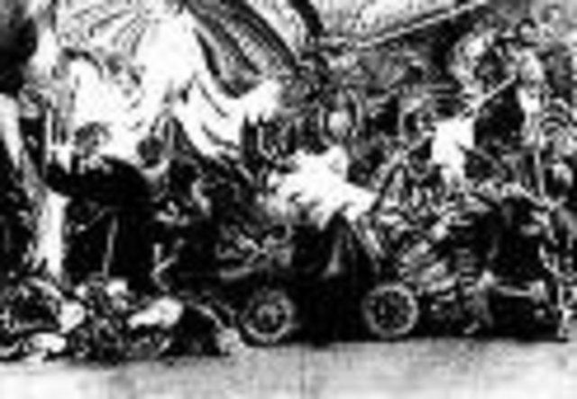 First Horror Film:  Le Manoir du diable