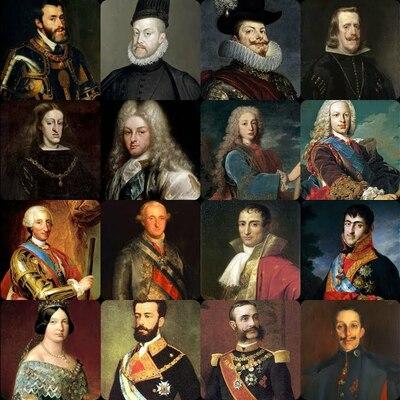 Monarcas de España  timeline