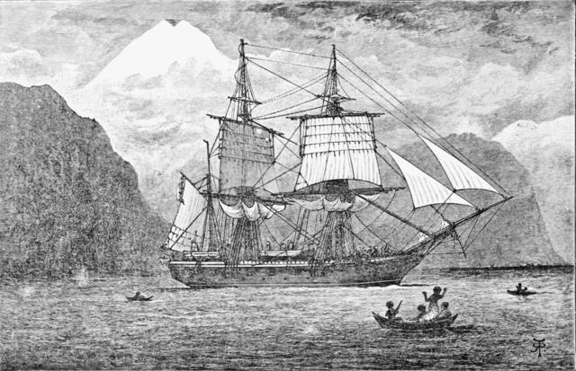 Darwin inicia el viaje del Beagle