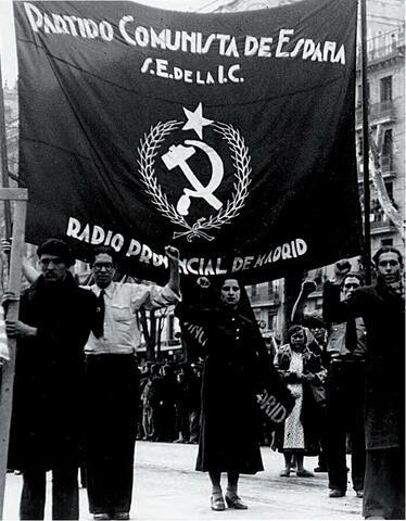 Fundación del partido Comunista de España